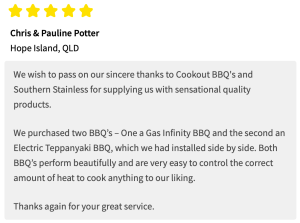 Infinity Grill BBQ Review - Chris Potter