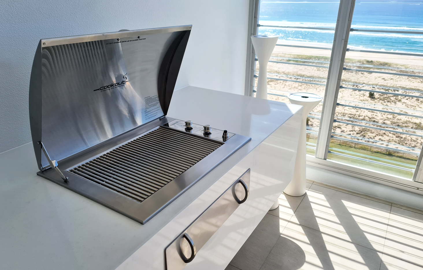 Infinity Grill Barbecue built in
