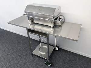 Australian Stainless BBQ Trolley for Cookout BBQ