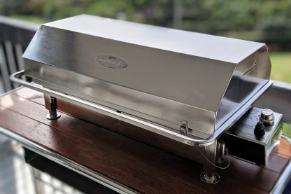 Australian made stainless steel Deluxe Gas BBQ