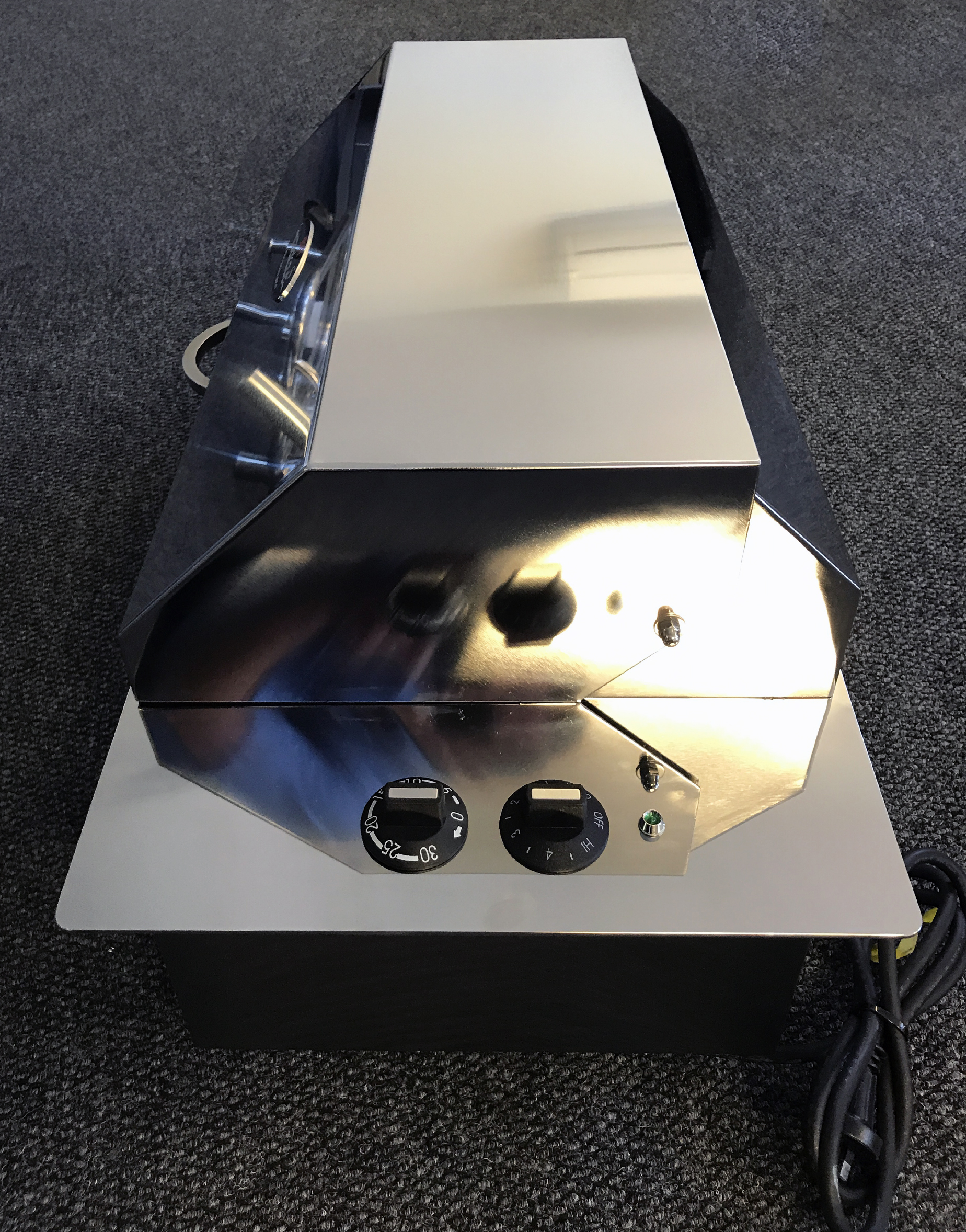Custom built stainless Electric Teppanyaki BBQ
