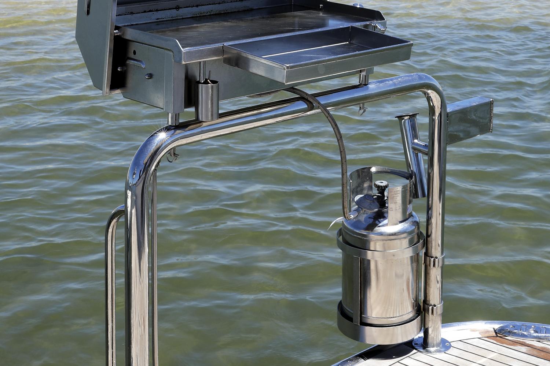 Stainless boat gas bottle Australia