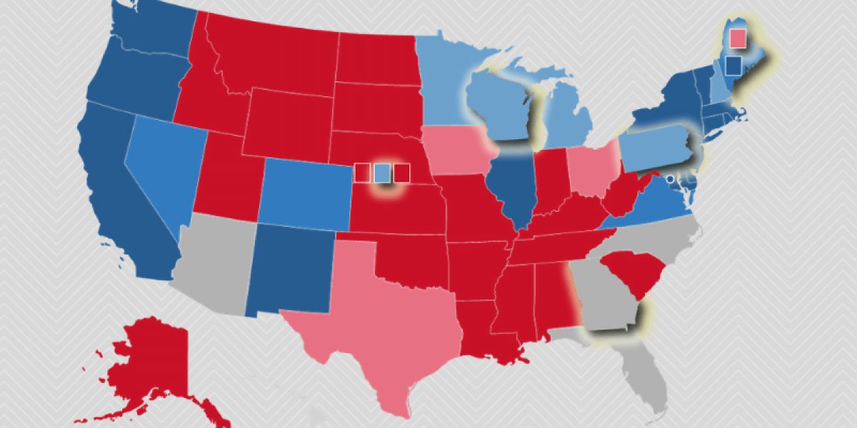 New July 2020 Electoral College Ratings The Cook Political Report