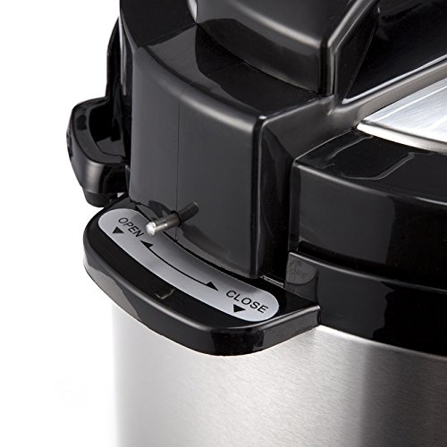 PureMate Electric Pressure cooker Review - Locks