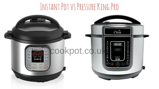 Instant Pot vs Pressure King Pro - Electric Pressure Cooker