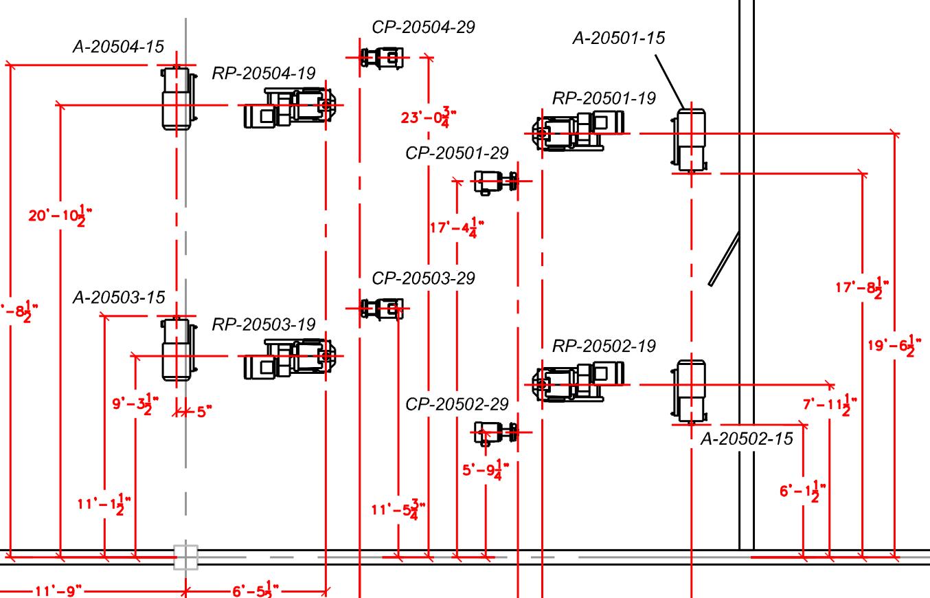 hight resolution of  equipment layout