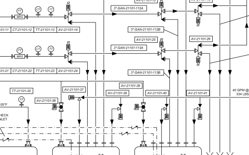 small resolution of process and instrumentation diagram