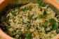 Methi and White Peas Pulav