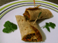 Vegetable Bhurji Wrap