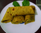 Barley Masala Roti with Avocado spread