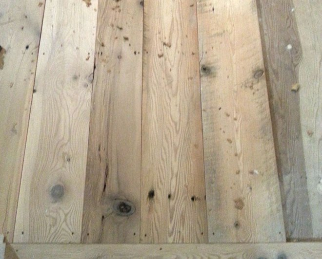 Hemlock Wide Flooring