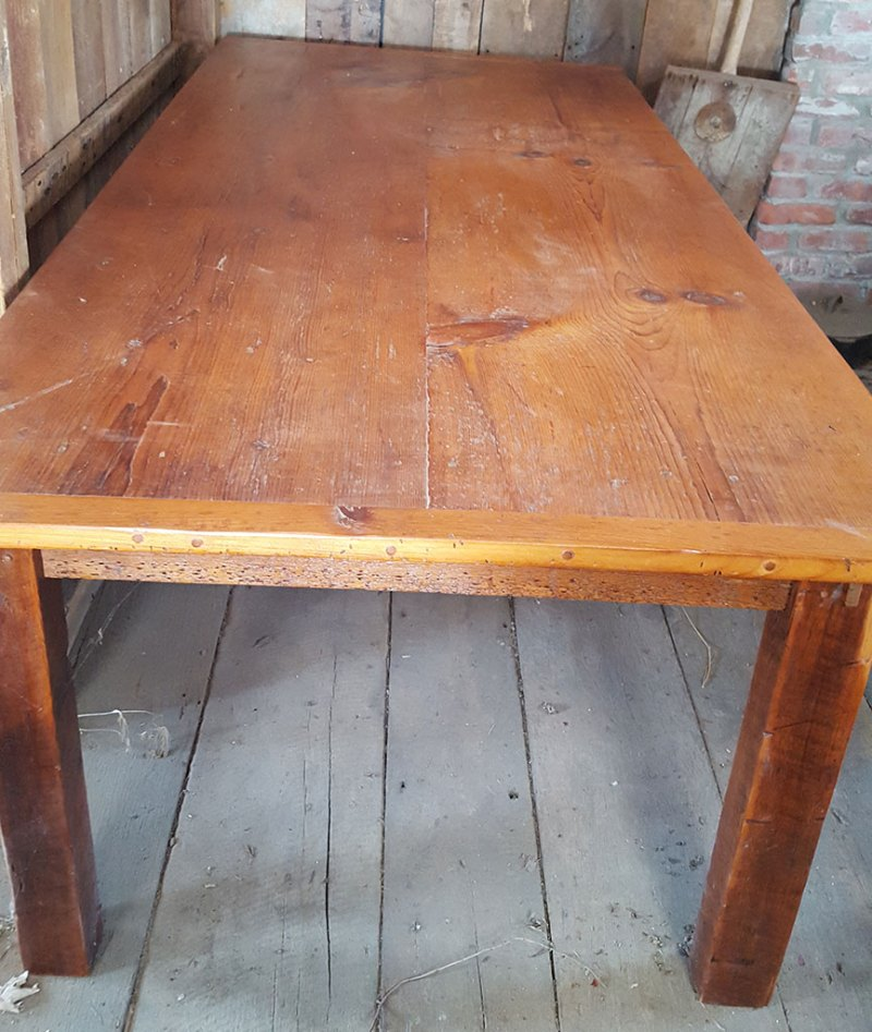 Granary Board White Pine Table