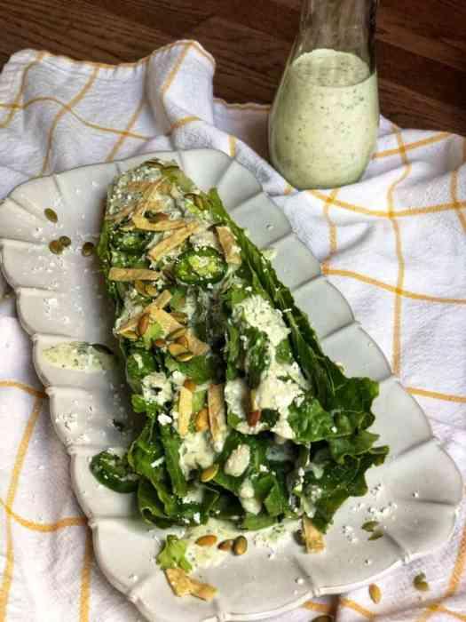 Mexican Caesar Salad 2
