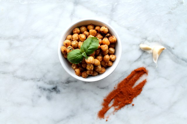 Garlic Crispy Chickpeas Recipe