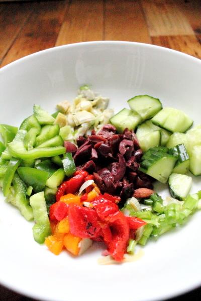 Pantry Pasta Salad001