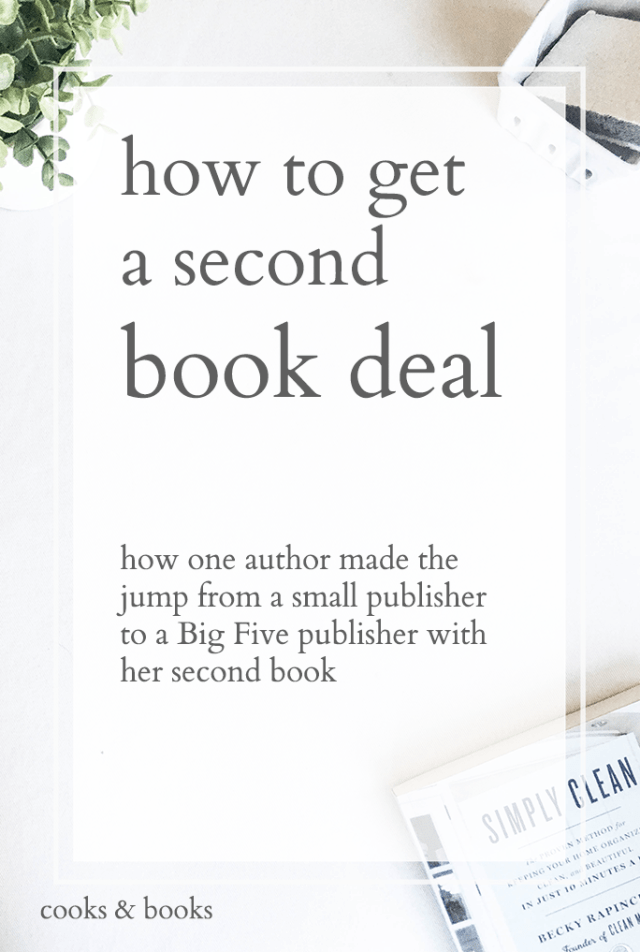 Becky rapinchuk clean mama how to get a book deal