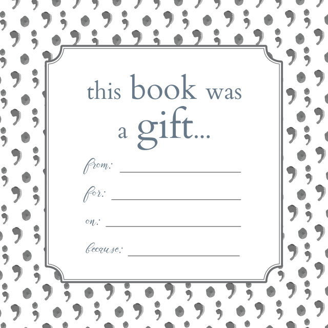 free printable bookplates donate