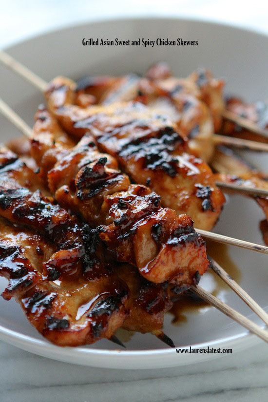 Grilled-Asian-Sweet-and-Spicy-Chicken-Skewers