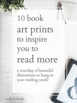 Reading and book art prints