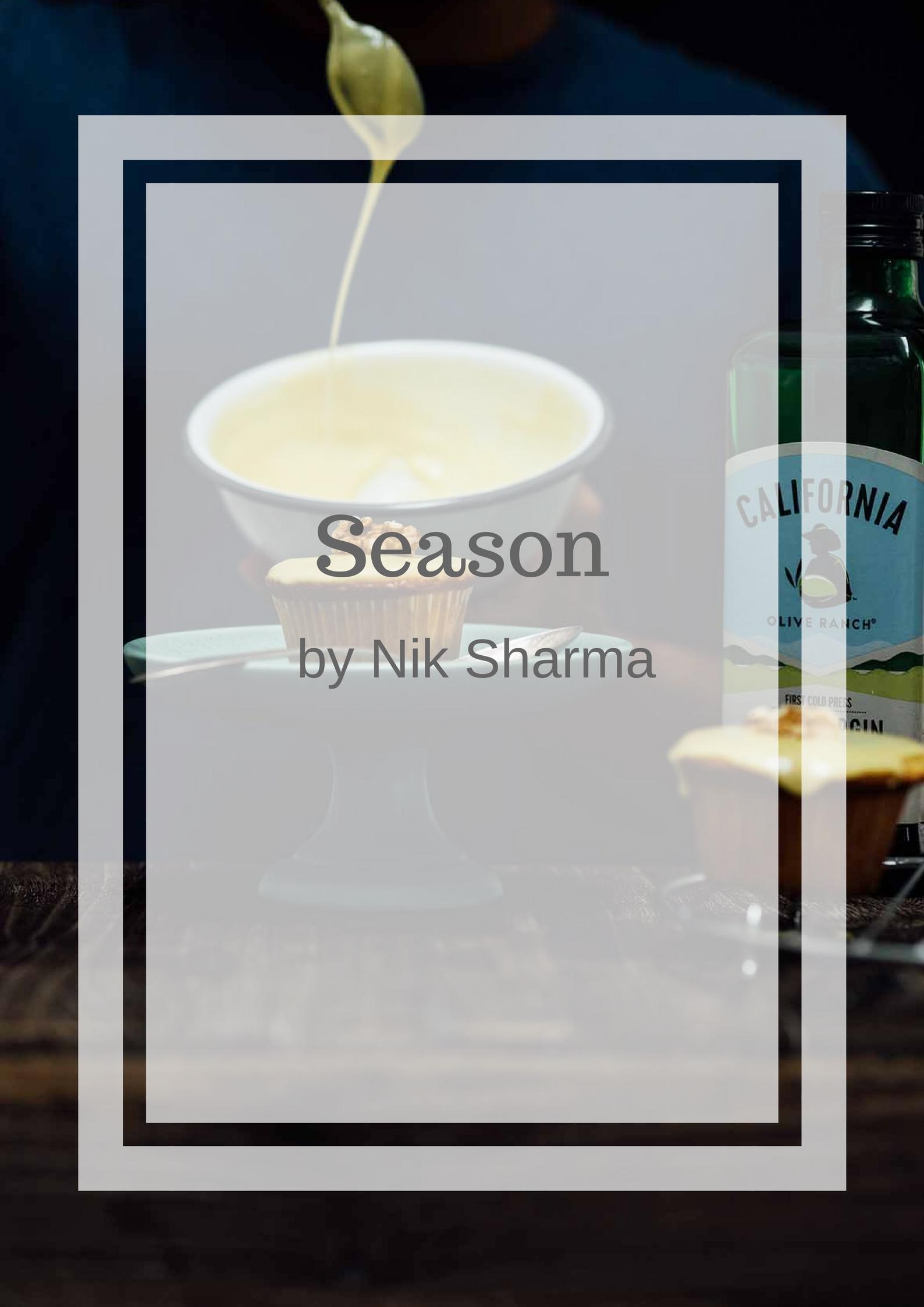Season Nik Sharma A Brown Table book deal