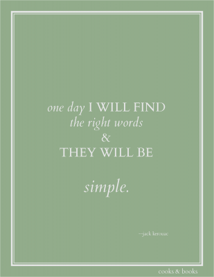 jack Kerouac quote art print