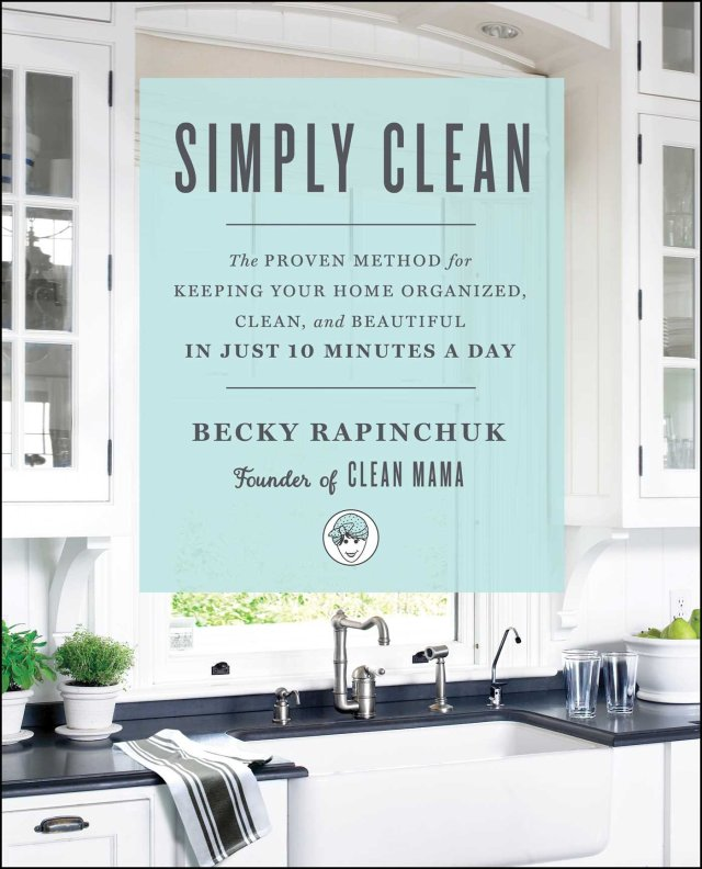 Simply Clean Becky Rapinchuk book cover