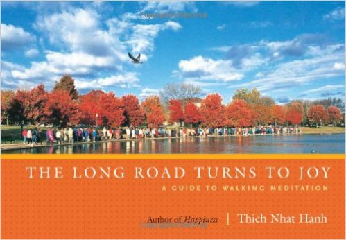 thich nhat hanh the long road turns to joy book cover