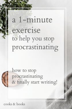 easy stop procrastinating writing