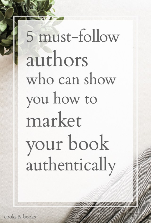 how to market a book authentically for authors