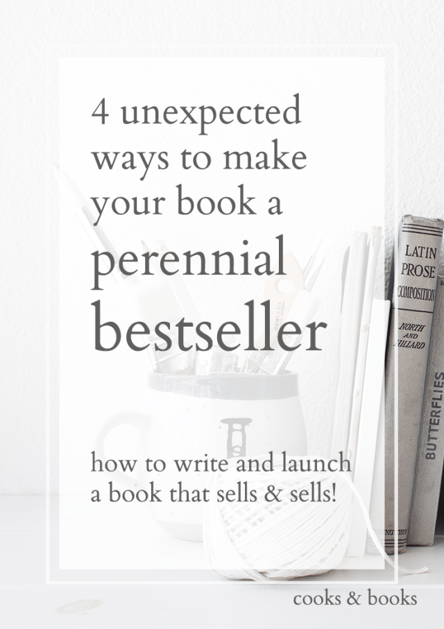 how to write a perennial seller book 1