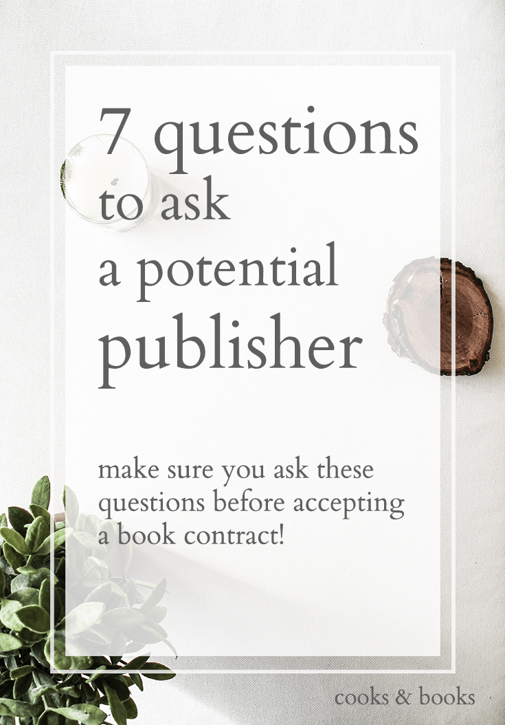 negotiating a book publishing contract
