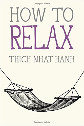 how to relax thich nhat hanh book cover