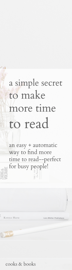 secret to make more time to read