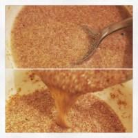Flax Egg _ how to make (como fazer ovo de linhaça)