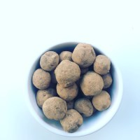 RawVegan chocolate Truffles  (Trufas vegan)