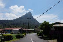 Santubong town