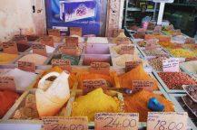 kuching spices market