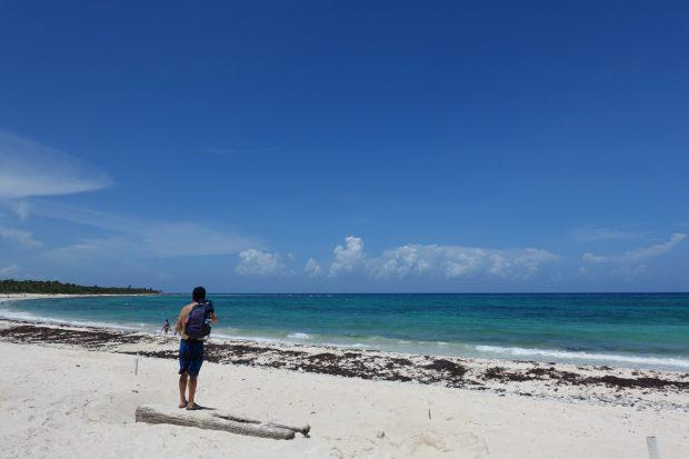 Xcacel tulum beach