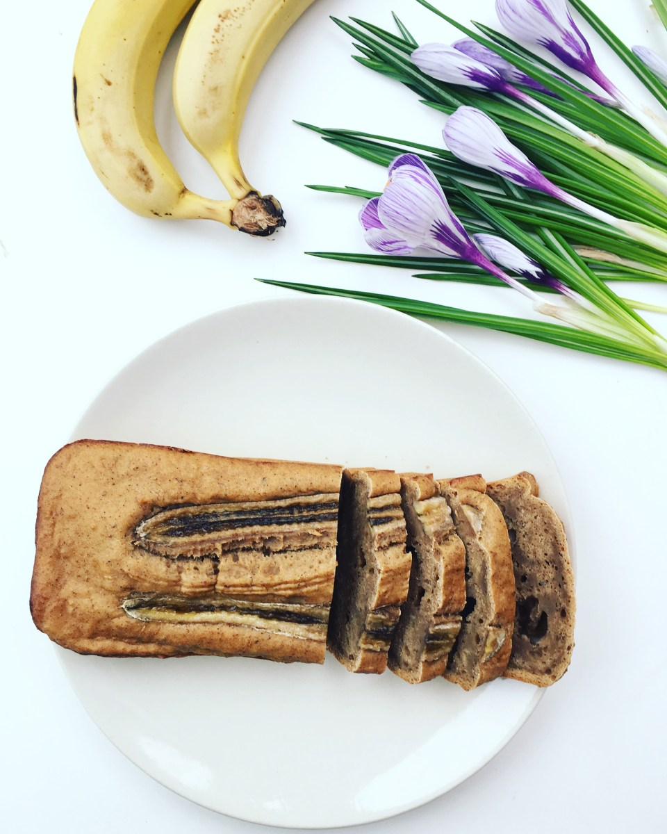 Vegan Banana Bread (pão de banana)