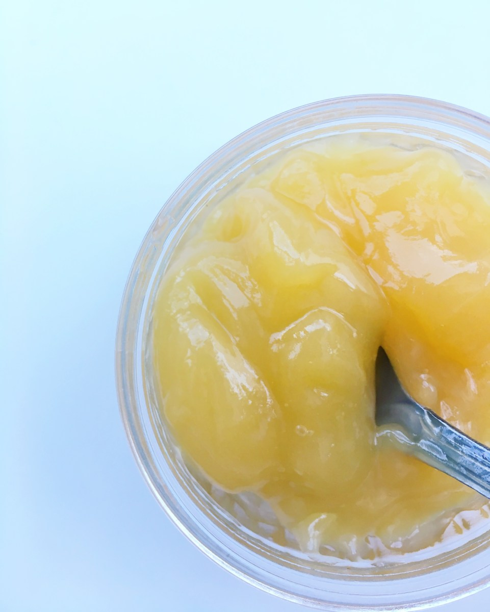 Vegan Lemon Curd (creme de limão vegano)