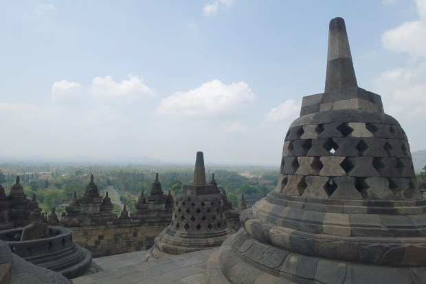 Borobudur temple detail