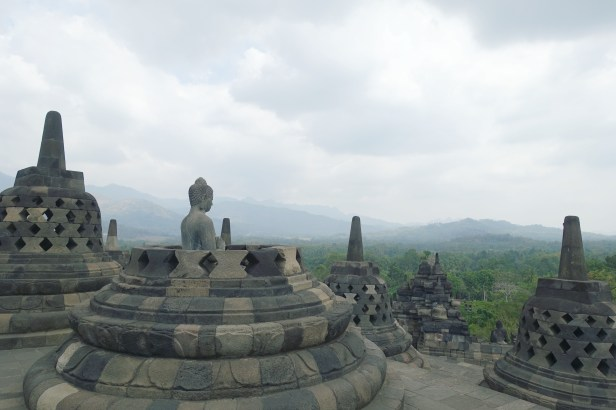 Borobudur temple views