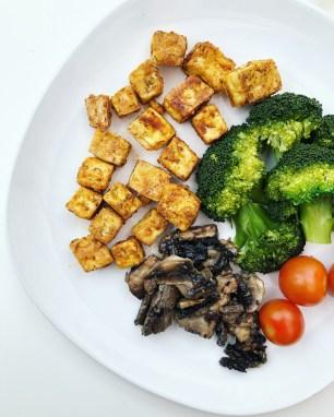 baked tofu vegan