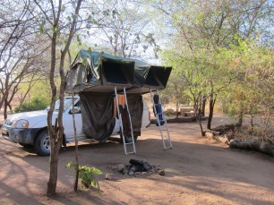 jeep camping africa