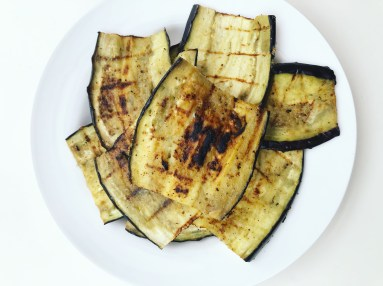 vegan grilled aubergine recipe
