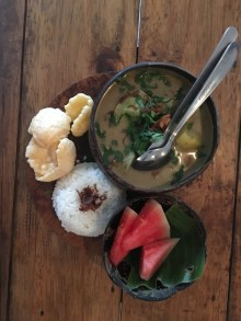 vegan indonesia travel