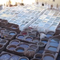 The Fez Tanneries - Just hold your nose