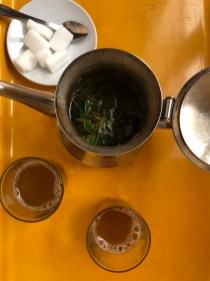 mint tea vegan Morocco