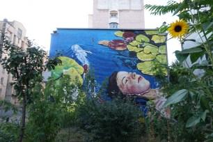 Kostiantynivska Kyiv mural