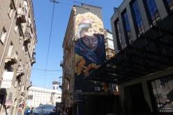 Protectress Kiev street art